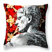 Constantine The Great Throw Pillow