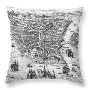 Constantinople, 1576 Throw Pillow