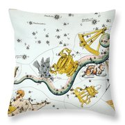 Constellation: Hydra Throw Pillow