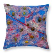 Constellation Of Aries Throw Pillow by Augusta Stylianou