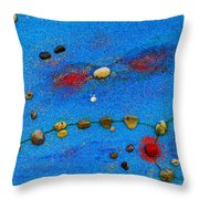 Constellation Of Pisces Throw Pillow