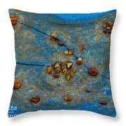 Constellation Of Taurus Throw Pillow by Augusta Stylianou