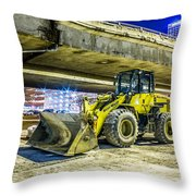 Construction At Rest Throw Pillow
