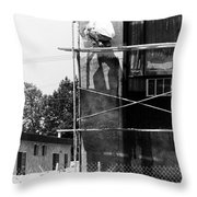 Construction Workers Throw Pillow