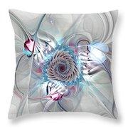 Contact Throw Pillow by Anastasiya Malakhova