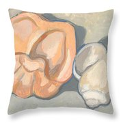 Container Forms Throw Pillow