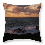 Contemplating In Paradise Throw Pillow