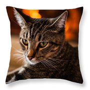 Contemplating My Demise Throw Pillow