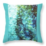 Oceanid Throw Pillow