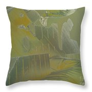 Contemplation -- Perspective Throw Pillow