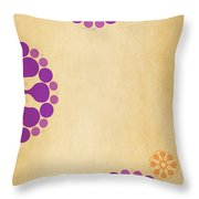 Contemporary Dandelions 2 Part 3 Of 3 Throw Pillow