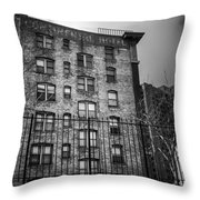 Continental Hotel Throw Pillow