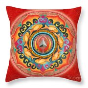 Continuing Mandala Throw Pillow