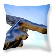 Contralto 19 Throw Pillow