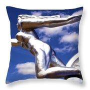 Contralto 3 Throw Pillow