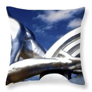 Contralto 9 Throw Pillow