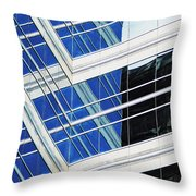 Contrasting Elements Throw Pillow