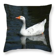 Contrasting Goose Throw Pillow