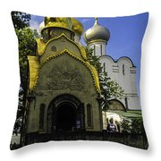 Convent - Moscow - Russia Throw Pillow