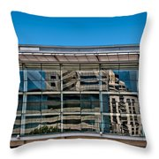 Convention Square Throw Pillow