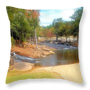 Convergence And Confluence Throw Pillow