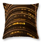 Converging Lines Throw Pillow