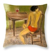 Conversations With You Throw Pillow