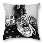 Converse Graffiti Throw Pillow