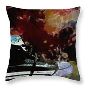 Converse Sports Shoes Throw Pillow