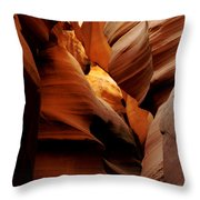 Convolusions Throw Pillow by Kathy McClure