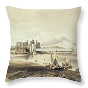 Conway Bridge, Construction Of Second Throw Pillow