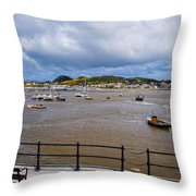 Conway Harbour Throw Pillow