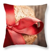 Cookie Gift Throw Pillow by Jane Rix