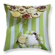 Cookies And Icing Throw Pillow