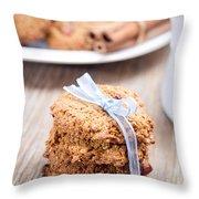 Cookies Throw Pillow by Viktor Pravdica