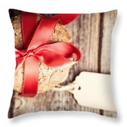 Cookies With Tag Retro Throw Pillow