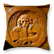 Cooking Lion Throw Pillow