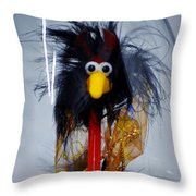 Cookoo Under Glass Throw Pillow