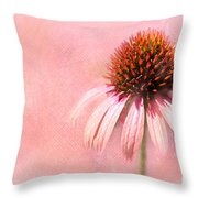 Cool And Pink Throw Pillow