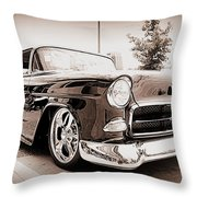 Cool As Ice Throw Pillow