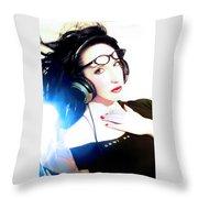 Cool As - Self Portrait Throw Pillow