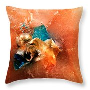 Cool Beauty Delight Throw Pillow
