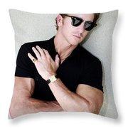 Cool Cal Palm Springs Throw Pillow
