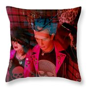 Cool Couple Throw Pillow