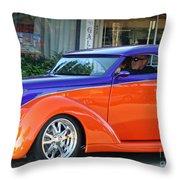 Cool Cruisin  Throw Pillow