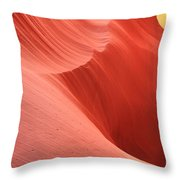 Cool Desert Colors Throw Pillow