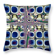 Cool Glass Throw Pillow