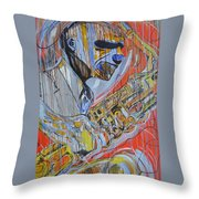 Cool Heat Throw Pillow