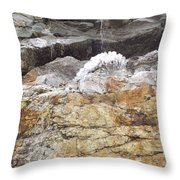 Cool Ice Form Throw Pillow