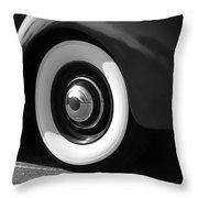 Cool Wheels Throw Pillow